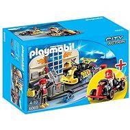 Playmobil 6869 StarterSet Opravna motokár