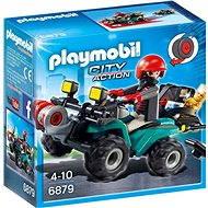 Playmobil 6879 Čtyřkolka s navijákem