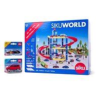 Siku World - Garáž s dárkem