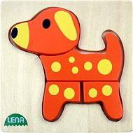 Lena Dřevěné puzzle - pes