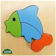 Lena Dřevěné puzzle - ryba