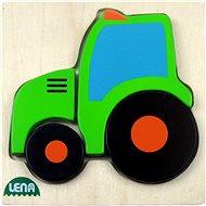 Lena Dřevěné puzzle - traktor