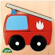 Lena Dřevěné puzzle - hasič
