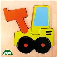 Lena Dřevěné puzzle - nakladač