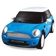 3D Puzzle auto - MiniCooper modré
