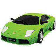 3D Puzzle auto - Lamborghi zelené