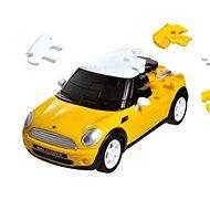 3D Puzzle auto - MiniCooper žluté