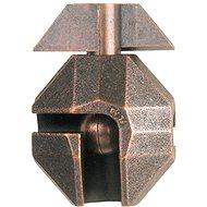 Uvězněný klíč hlavolam kov