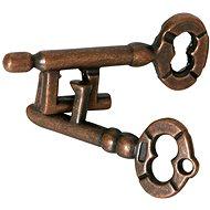 Nerozlučné klíče hlavolam kov