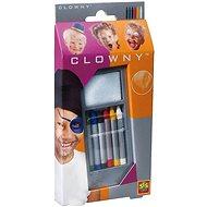 SES Obličejové pastelky, 6 barev