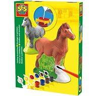 SES Sádrový komplet – kůň
