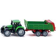 Siku Blister – Traktor s univerzální vlečkou