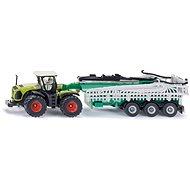 Siku Farmer – traktor Claas Xerion s cisternou