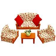 Sylvanian Families Nábytek – sedací souprava se stolečkem