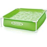 Bazén dětský s rámem, zelený