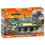 Cobi World of Tanks M4 Sherman A1/Firefly (2 v 1)