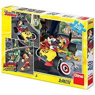 Dino Mickey a Minnie: Závodníci