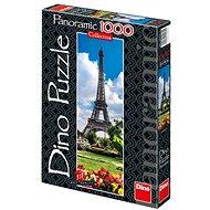 Dino Eiffelova věž na jaře Panoramic