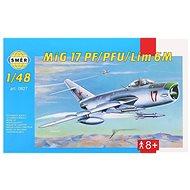 Směr Model Kit 0827 letadlo – MIG 17 PF/PFU/lim 6M