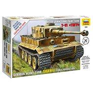 Zvezda Snap Kit Z5002 tank – Tiger I