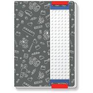 LEGO Stationery Zápisník šedý