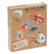 Set Re-cycle me pro kluky – stojan na vajíčka