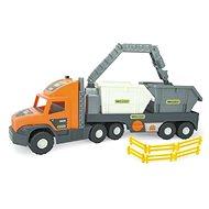 Wader Super Tech Truck s kontejnery