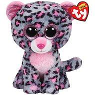 Beanie Boos Tasha - Pink/Grey Leopard