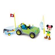 Mikro Trading Mickey Mouse auto s rybářským člunem a doplňky