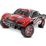 Traxxas Slash Ultimate 4WD VXL LCG TQi Bluetooth TSM OBA RTR červená