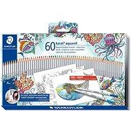 Staedtler Akvarelové pastelky 60 barev