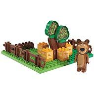 PlayBIG Bloxx Máša a medvěd Míšova zahrádka
