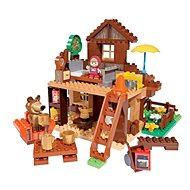 PlayBIG Bloxx Máša a medvěd Míšův dům