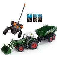 Dickie Traktor se lžící a vozíkem