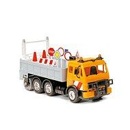 Dickie Heavy City Truck 25 cm oranžový