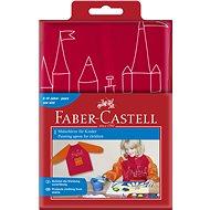 Faber-Castell Zástěra na malování červená