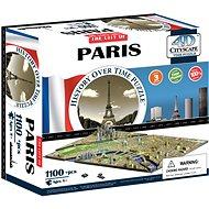 4D Puzzle Cityscape Time panorama Paríž