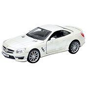 Bburago Mercedes-Benz SL 65 AMG bílý 1:24