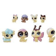 Littlest Pet Shop Frosting Frenzy set 8 ks zvířátek - vanilková barva