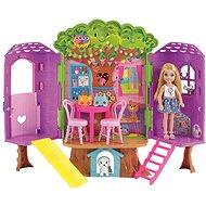 Barbie Chelsea a domeček na stromě