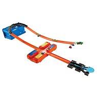 Hot Wheels Track Builder V kufříku - Zatáčka