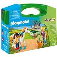 Playmobil 9100 Přenosný box - Péče o koně