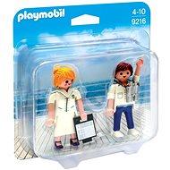 Playmobil 9216 Duo Pack Stevardka a důstojník