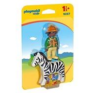 Playmobil 9257 Chovatel se zebrou