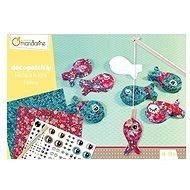 Avenue Mandarine Dětské tvoření Decoupage Rybičky