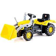 DOLU Velký šlapací traktor s rypadlem