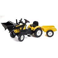 Traktor Constructor s volantem