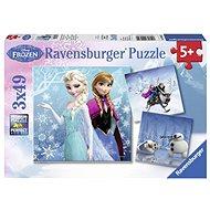 Ravensburger 92642 Disney Ledové království: dobrodružství na sněhu