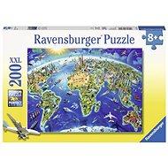 Ravensburger 127221 Velká mapa světa