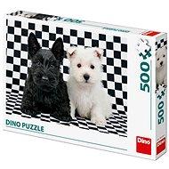 Černobílí psi